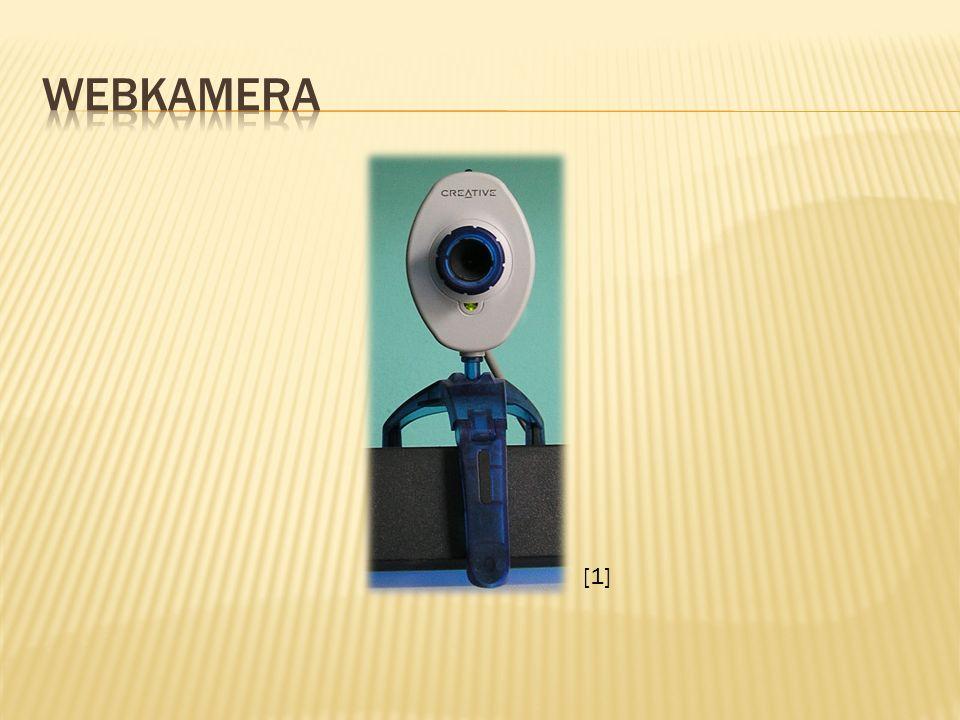  Webkamera (webová kamera) patří do vstupních zařízení počítače.