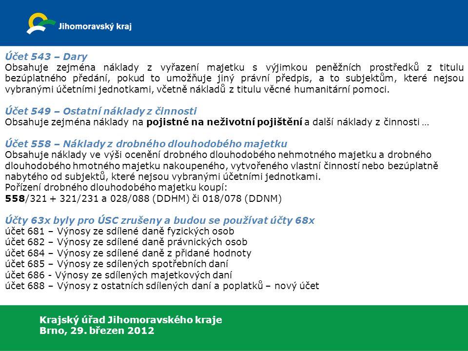 Krajský úřad Jihomoravského kraje Brno, 29.