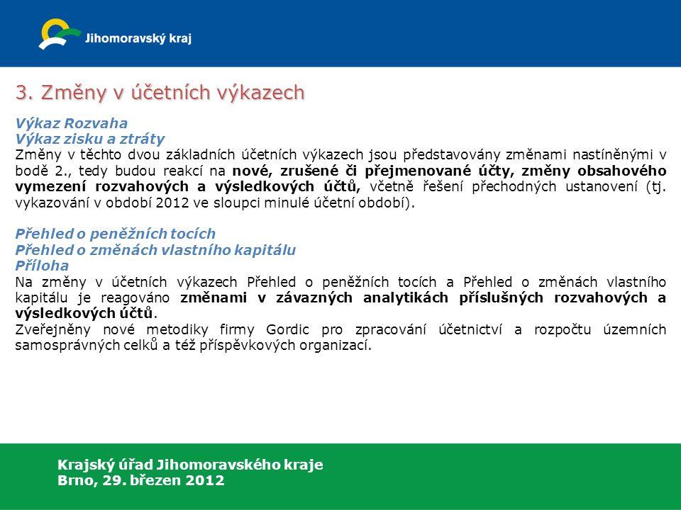 Krajský úřad Jihomoravského kraje Brno, 29. březen 2012 3.