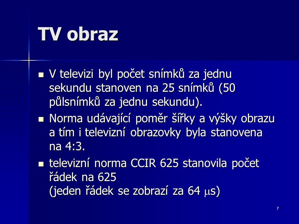 8 TV obraz - vykreslení