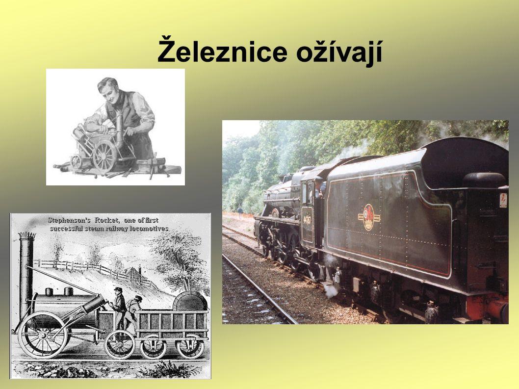 Železnice ožívají