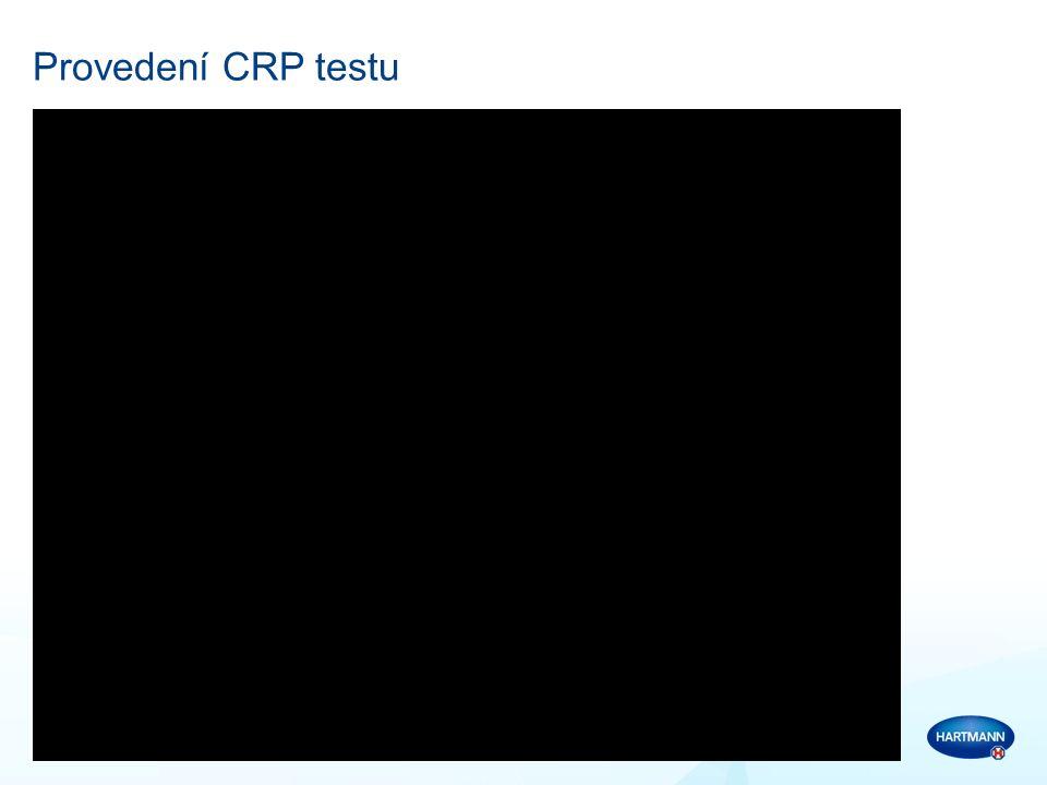 Vyhodnocení CRP testu