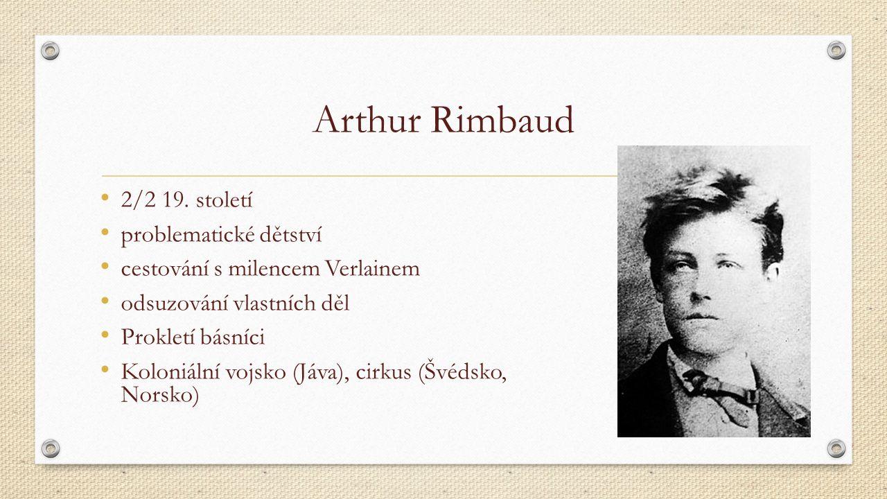 Arthur Rimbaud 2/2 19.