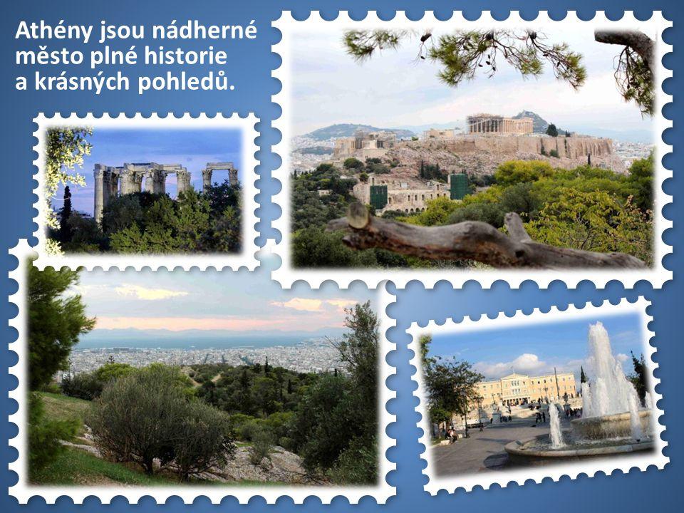 50 USA Athény jsou nádherné město plné historie a krásných pohledů.