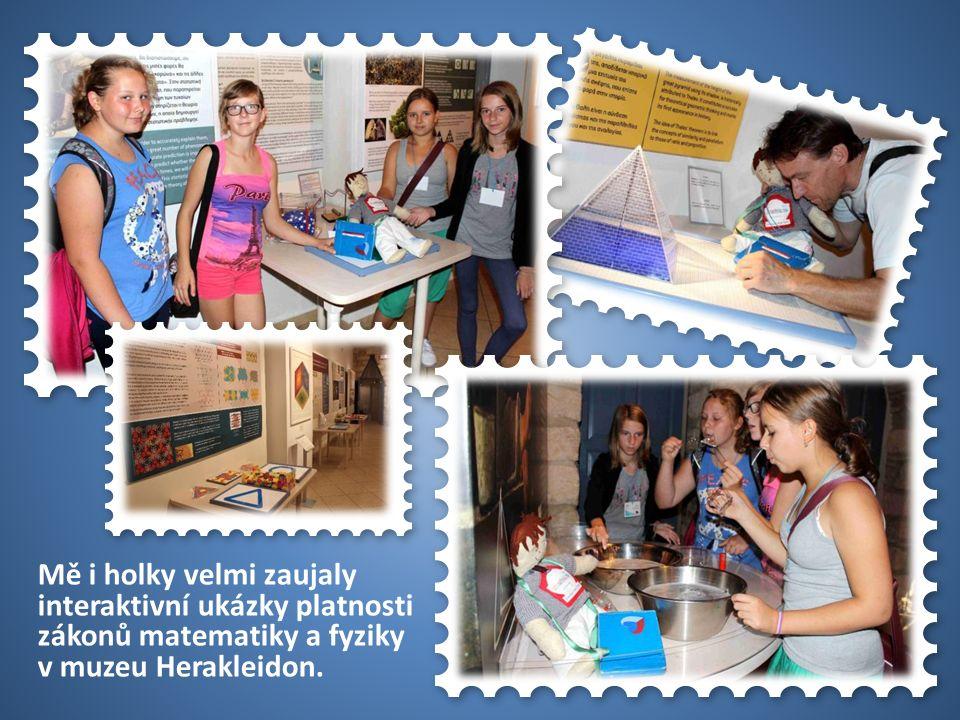 50 USA Mě i holky velmi zaujaly interaktivní ukázky platnosti zákonů matematiky a fyziky v muzeu Herakleidon.