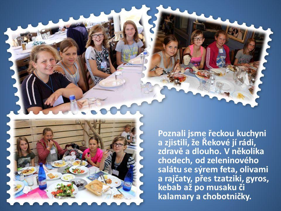 50 USA Poznali jsme řeckou kuchyni a zjistili, že Řekové jí rádi, zdravě a dlouho.
