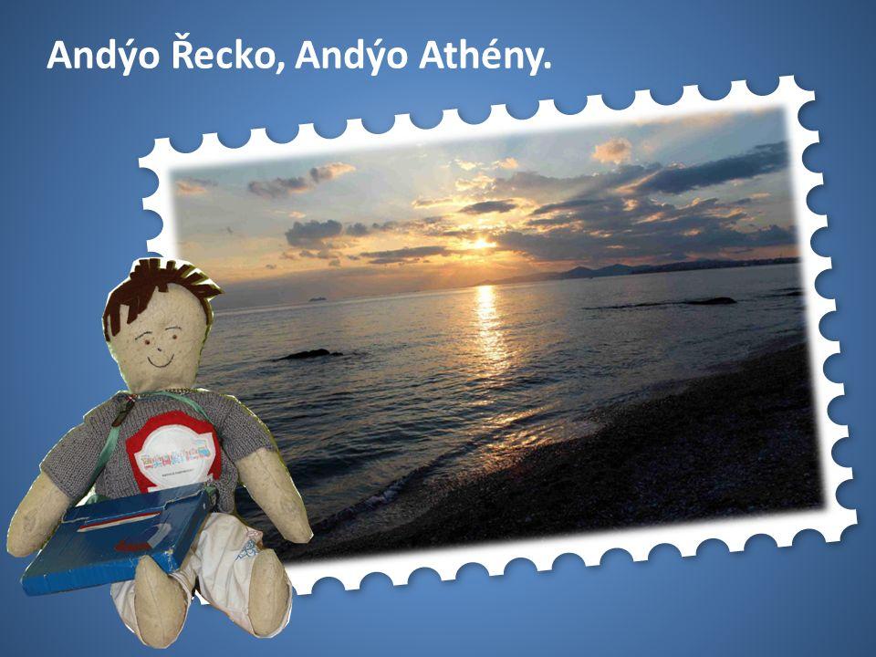 50 USA Andýo Řecko, Andýo Athény.
