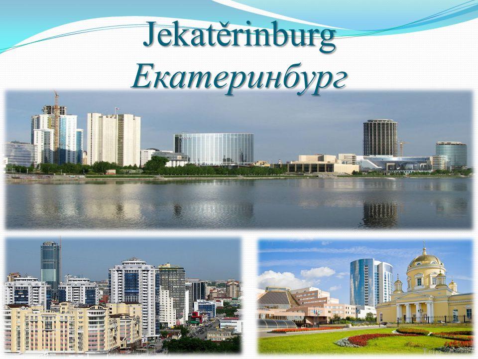 Jekatěrinburg Екатеринбург