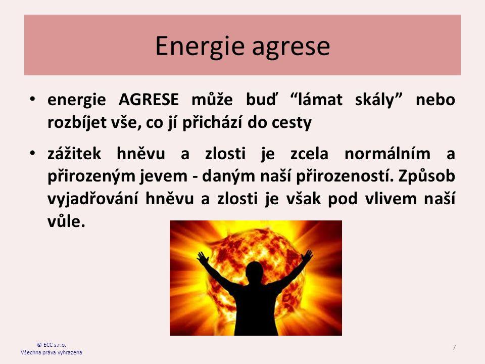 Energie agrese energie AGRESE může buď lámat skály nebo rozbíjet vše, co jí přichází do cesty zážitek hněvu a zlosti je zcela normálním a přirozeným jevem - daným naší přirozeností.