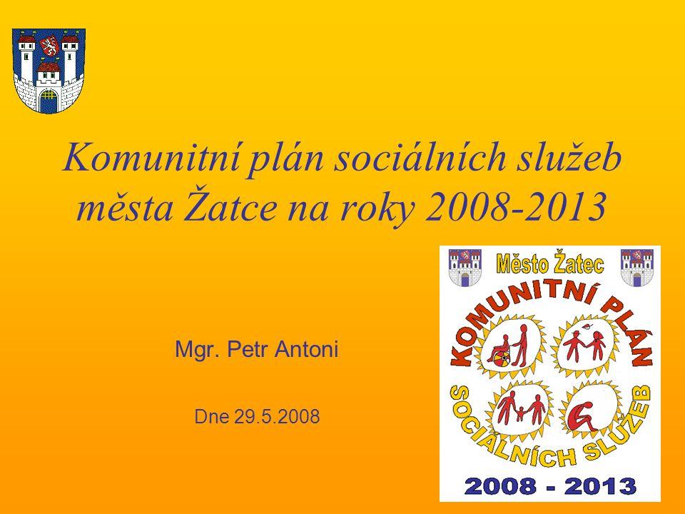 Schvalovací proces Záměr schválit Komunitní plán doporučila Rada města usnesením č.
