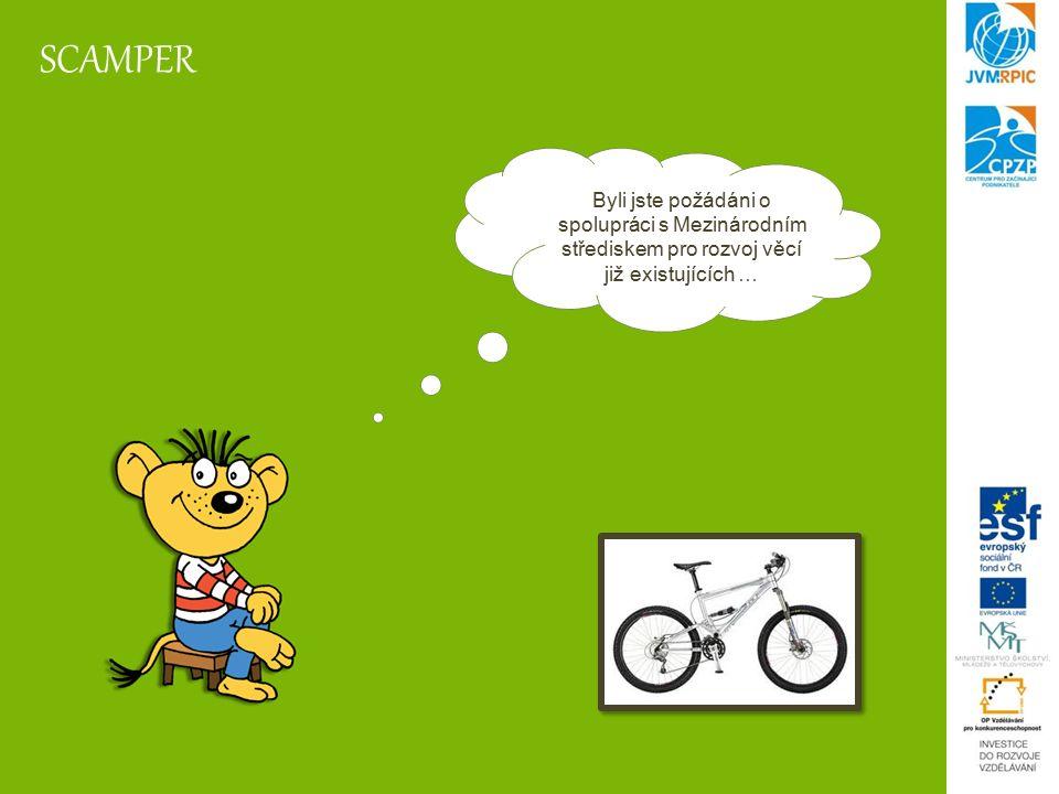 SCAMPER Metoda SCAMPER je založena na sedmi jednoduchých otázkách: Dalo by se něco nahradit.