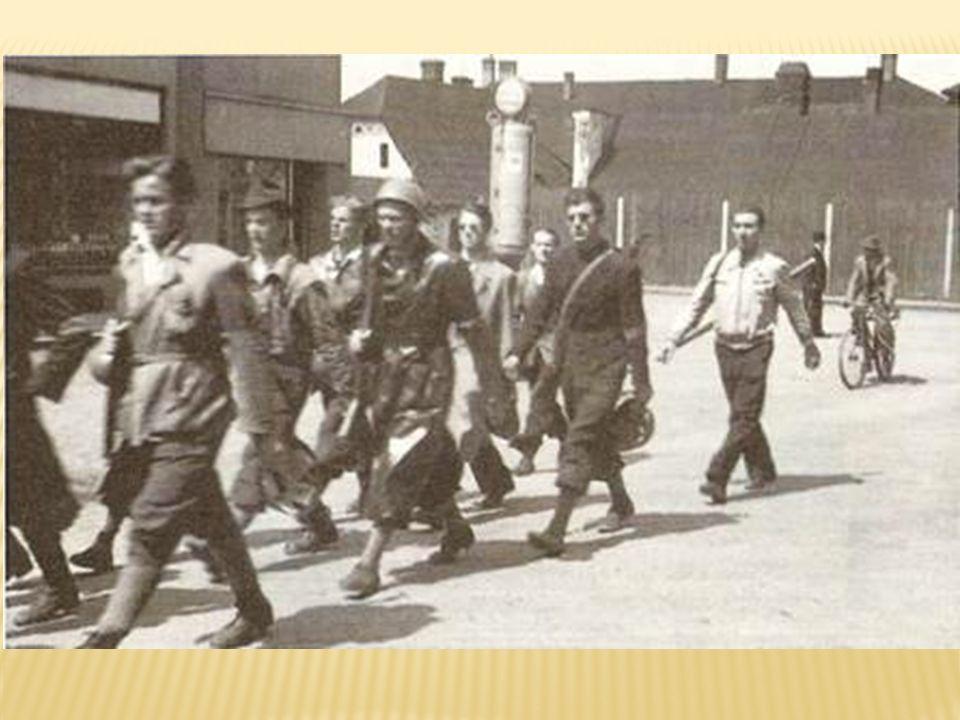 květnu 1945  Protiněmecké nálady narůstaly v domácím a zahraničním odboji i většině české společnosti postupně v průběhu války a německé okupace českých zemí a vrcholily v květnu 1945, kdy se zdálo další česko-německé soužití jako nemožné.