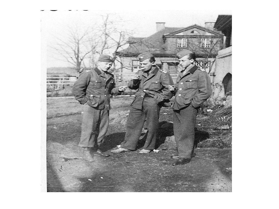 V červenci 1945 byla ubytována v Zámečku (nynější DZR) vojenská jednotka čsl.