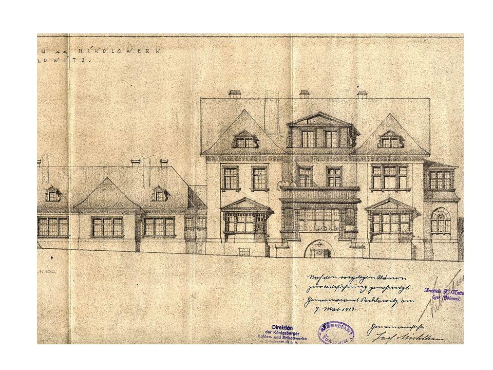 K tomu byl využit objekt postavený podle návrhu chebského architekta Karla Mattusche (je rovněž autorem známé rozhledny na Blatenském vrchu v Horní Blatné, ředitelské vily na svahu nad CHZ Sokolov a další vily ve které byly jesle CHZ).