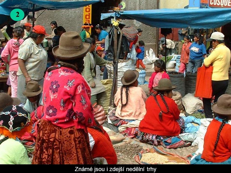 Pisac Pisac leží asi 33 km od města Cusco, patří mezi nejdůležitější archeologická naleziště v zemi.