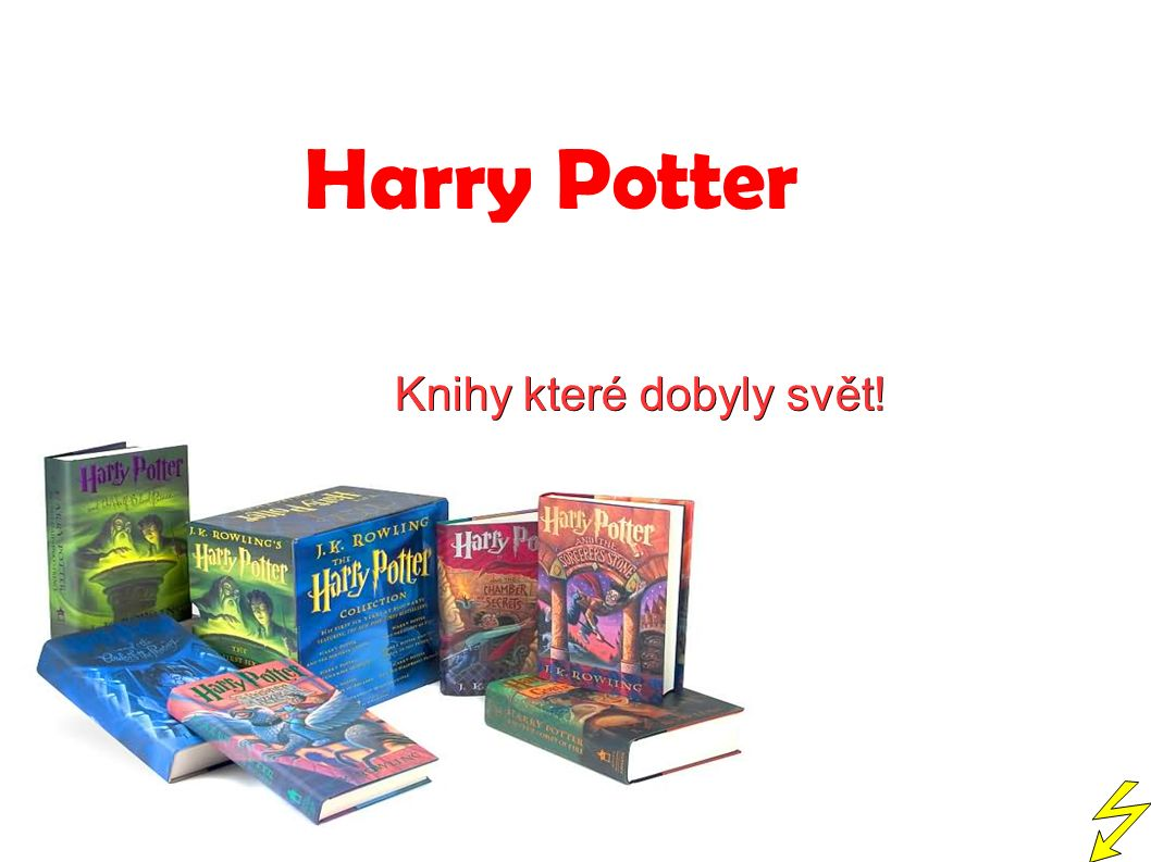 Harry Potter Knihy které dobyly svět!