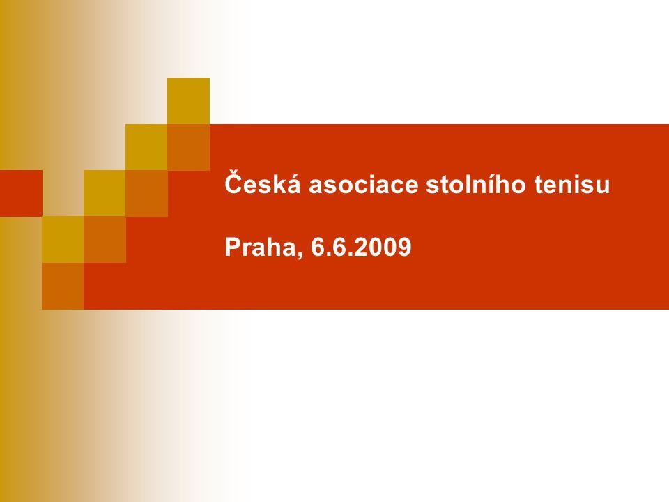 Česká asociace stolního tenisu Praha, 6.6.2009