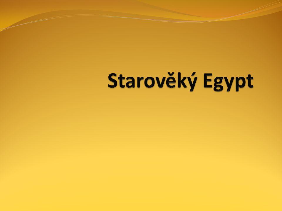 Egypt vznik jednotného státu ve 4.tisíciletí př. n.