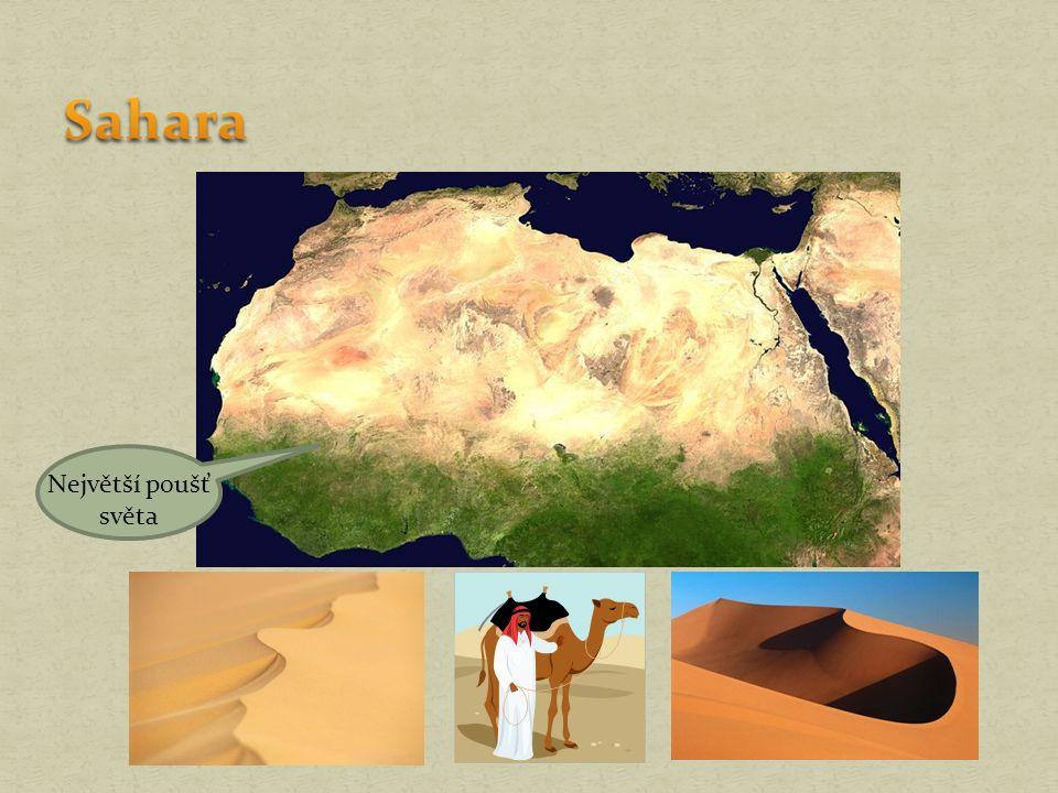 Největší poušť světa