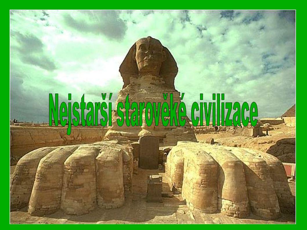 ● Vznikají ve 4.tis. př. n. l. v oblasti s příznivými přírodními podmínkami ● Tzv.