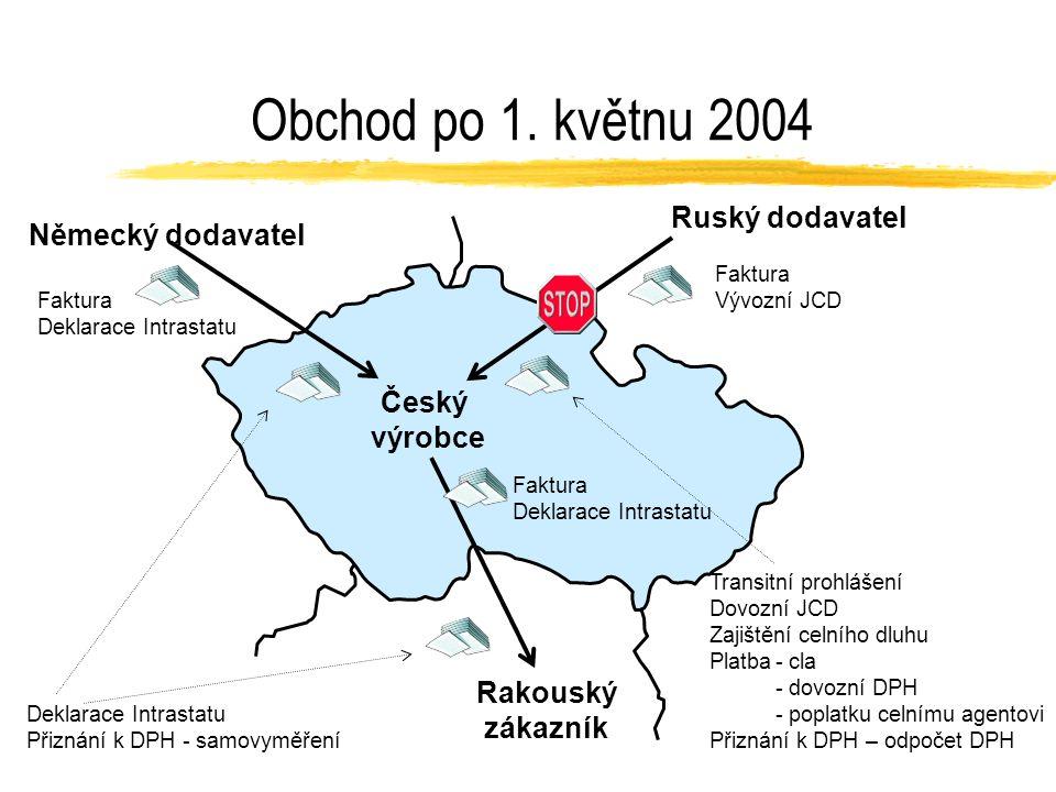Celní unie Celní unie - jednotné celní sazby i řízení pro všechny země EU Od 1.května 2004 jsou v ČR uplatňována pouze pravidla EU Nařízení Rady č.