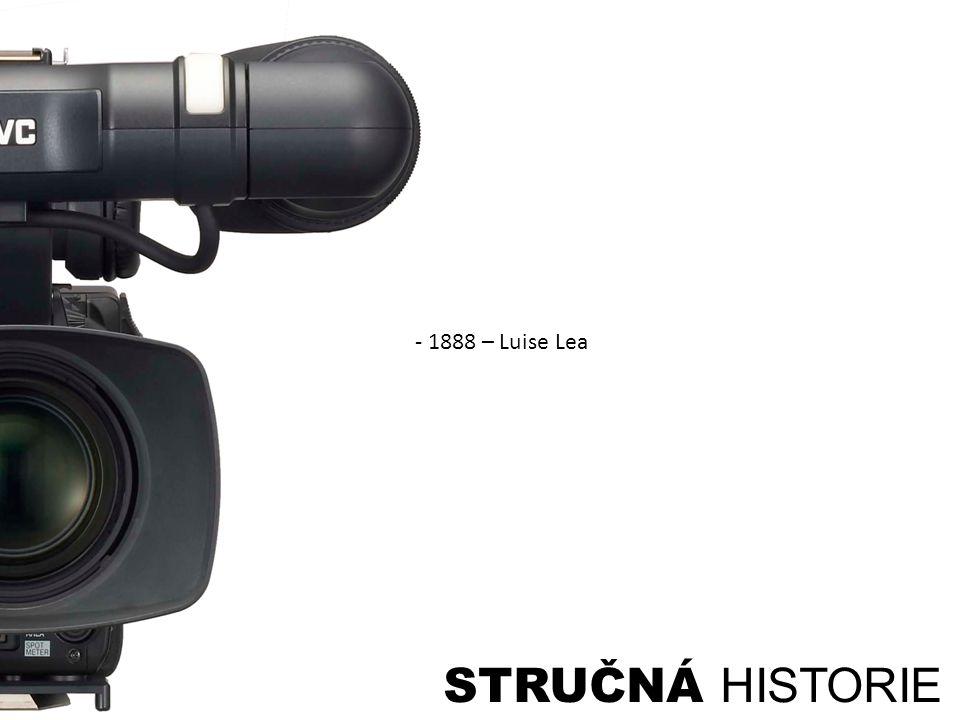 STRUČNÁ HISTORIE - 1888 – Luise Lea