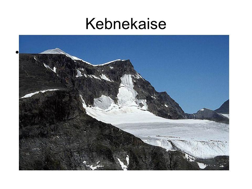Kebnekaise Kebnekaise je nejvyšší horou Švédska.