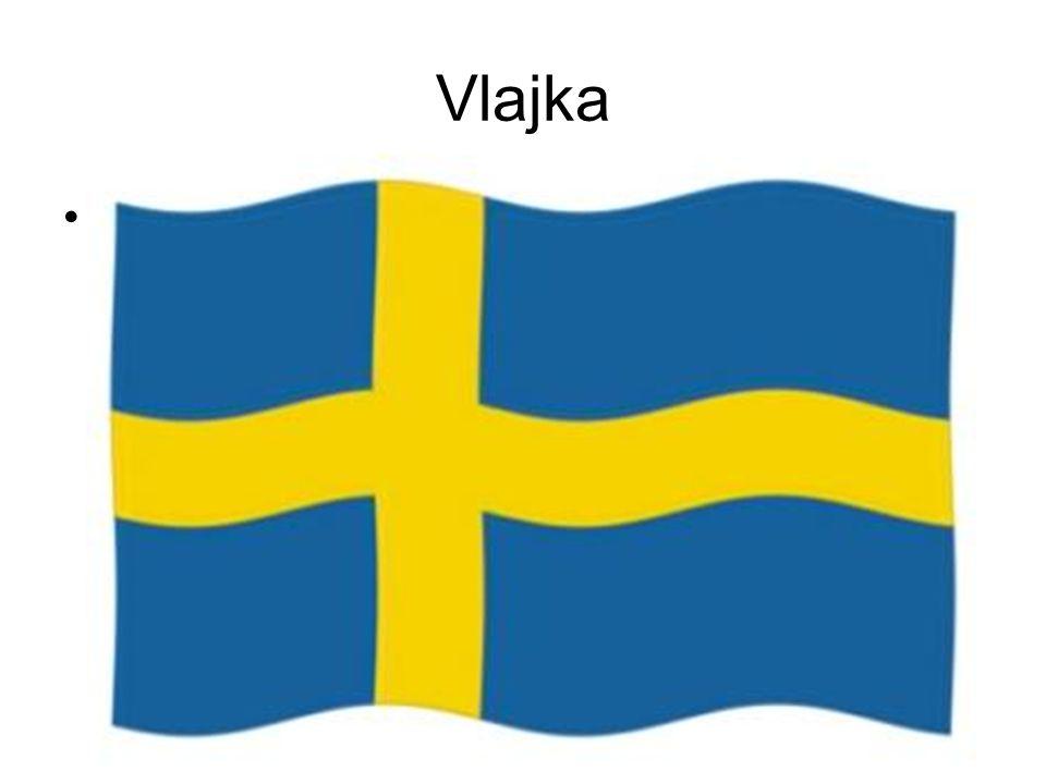 Vlajka Švédská vlajka byla přijata v součastné podobě v roce 1906, byla však používána již v době krále Gustava Vasy ( 16.stol.), který obnovil nezávislost švédského státu.