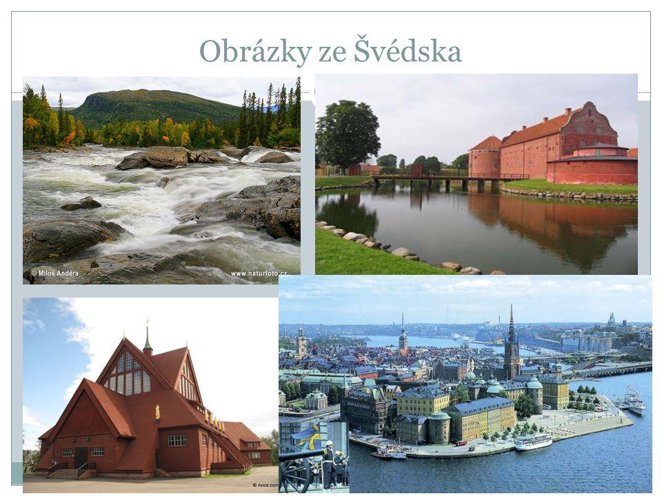 Obrázky ze Švédska