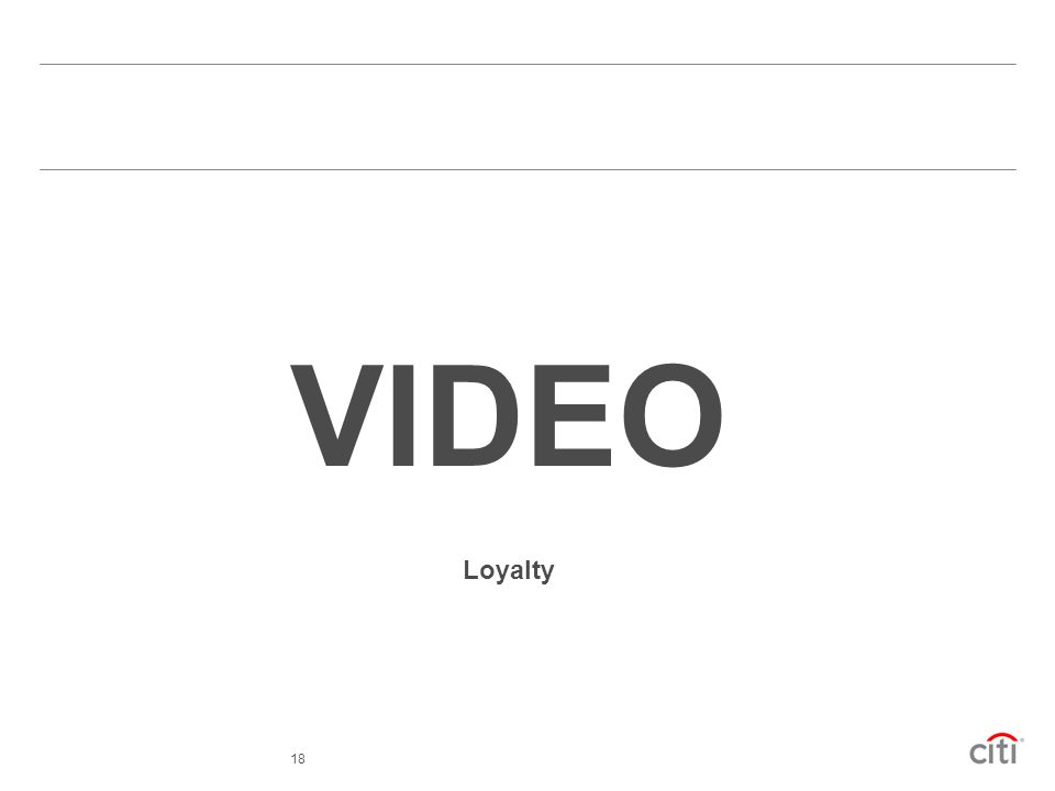 VIDEO Loyalty 18