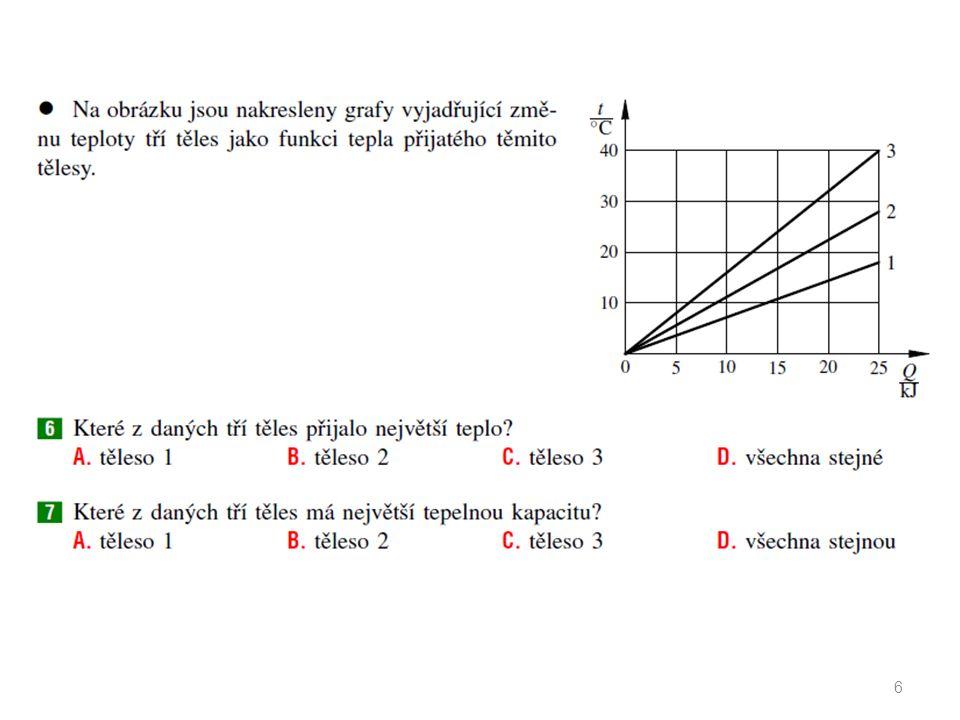 Výpočet tepla při změně teploty Kalorimetrická rovnice (bez změny skupenství) m 1, t 1, c 1 m 2, t 2, c 2 t neuvažujeme tepelnou kapacitu nádoby uvažujeme tepelnou kapacitu C nádoby t2  t1t2  t1