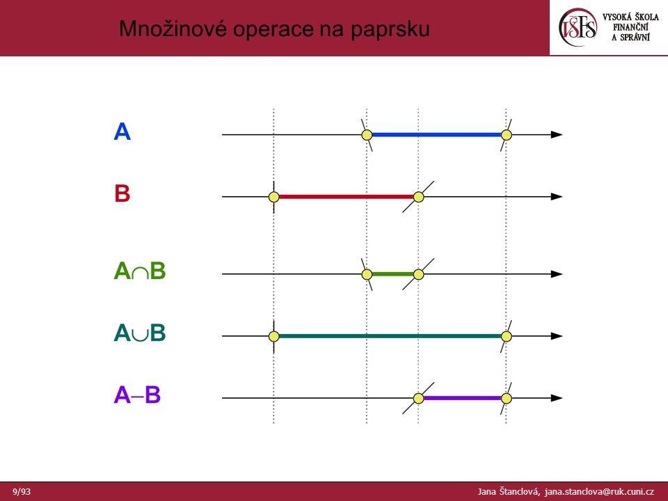 dvě sítě křivek Dvě sítě povrchových křivek 30/93 Jana Štanclová, jana.stanclova@ruk.cuni.cz