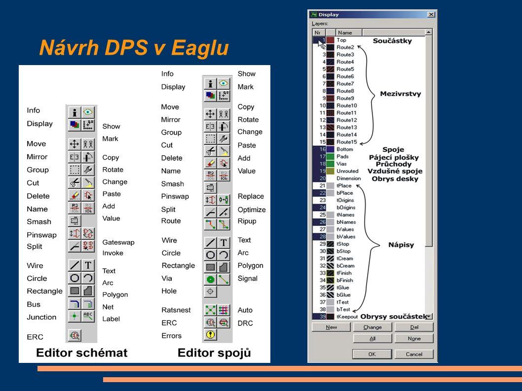 Návrh DPS v Eaglu