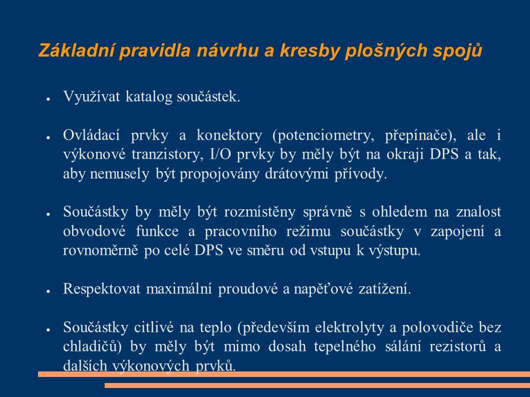 Návrh DPS v Eaglu – Editor schémat