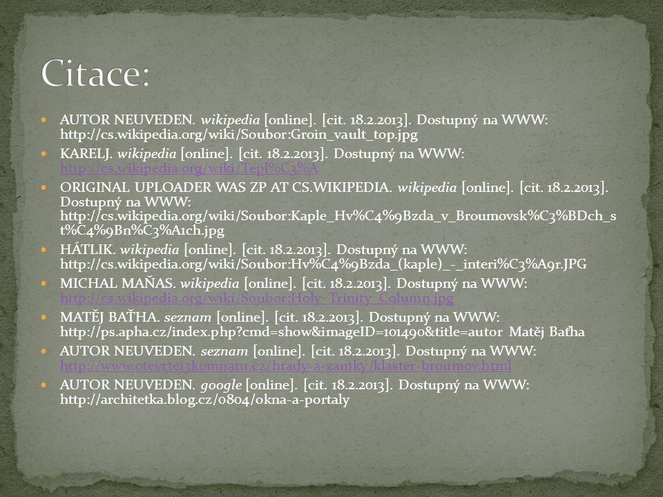 AUTOR NEUVEDEN. wikipedia [online]. [cit. 18.2.2013].