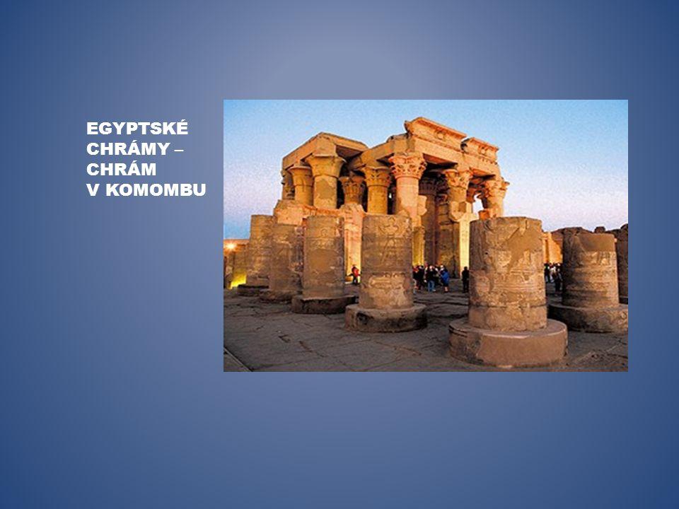 EGYPTSKÉ CHRÁMY – CHRÁM V KOMOMBU