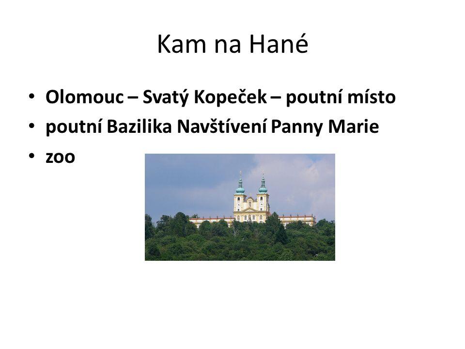 Kam na Hané Kroměříž Zámek Květná zahrada UNESCO