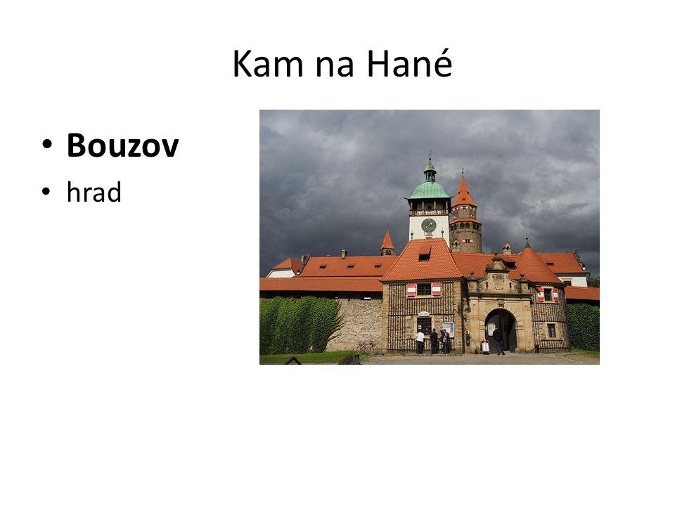 Kam na Hané Helfštýn hrad