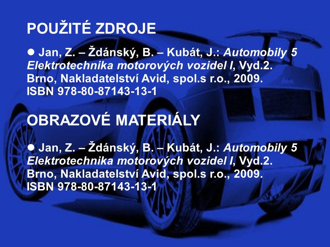 POUŽITÉ ZDROJE OBRAZOVÉ MATERIÁLY Jan, Z. – Ždánský, B.