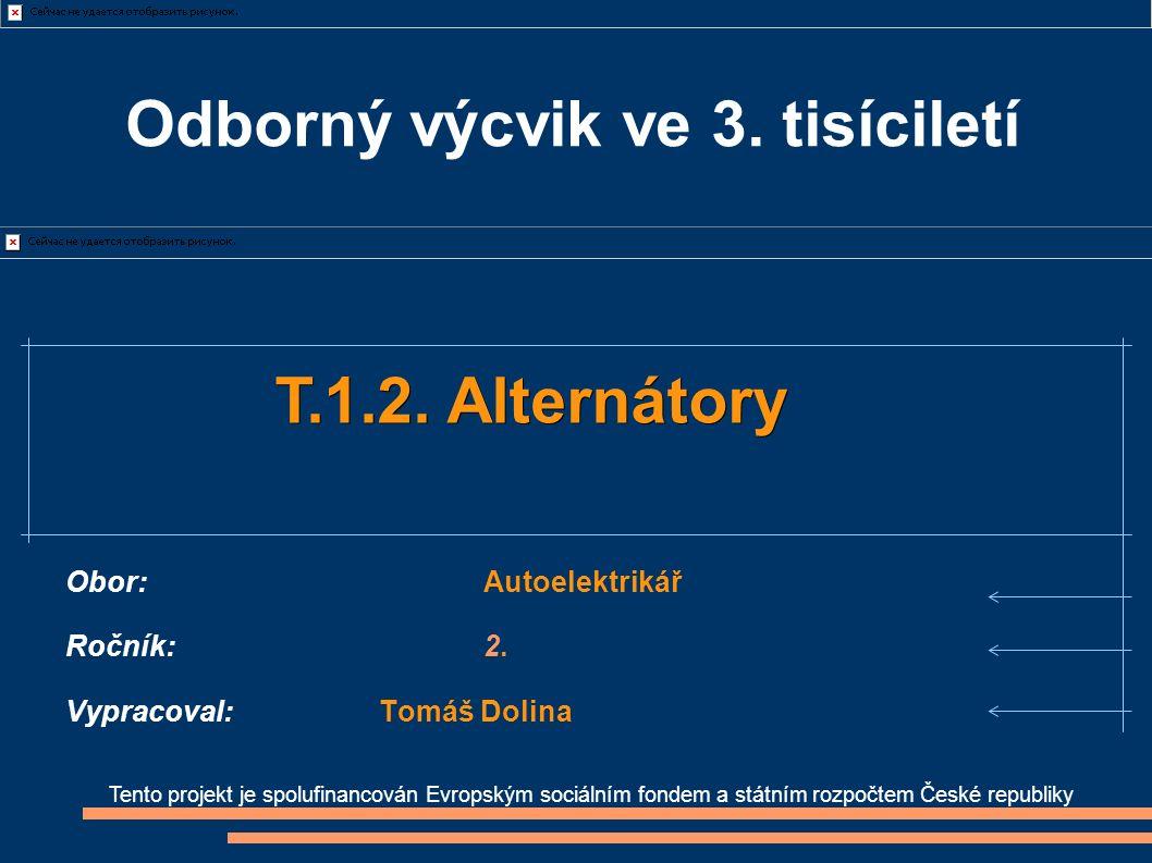 Tento projekt je spolufinancován Evropským sociálním fondem a státním rozpočtem České republiky T.1.2.