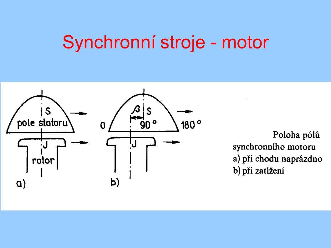 Synchronní stroje - motor