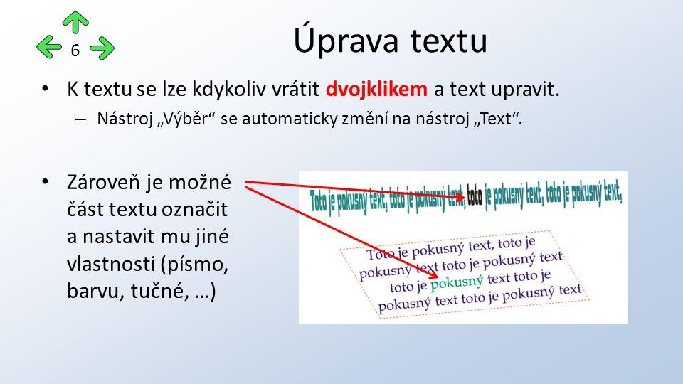 Pro odstavcový text lze nastavit některé speciální vlastnosti: – Odrážky – Sloupce – Iniciálu Speciální vlastnosti 7