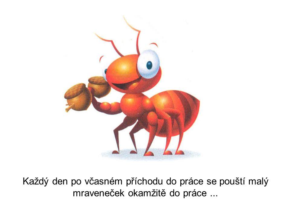 Příběh o mravenečkovi