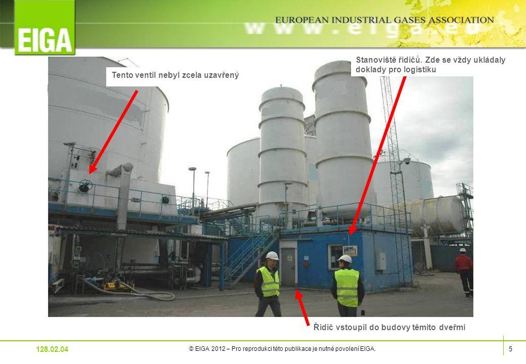 5 © EIGA 2012 – Pro reprodukci této publikace je nutné povolení EIGA.