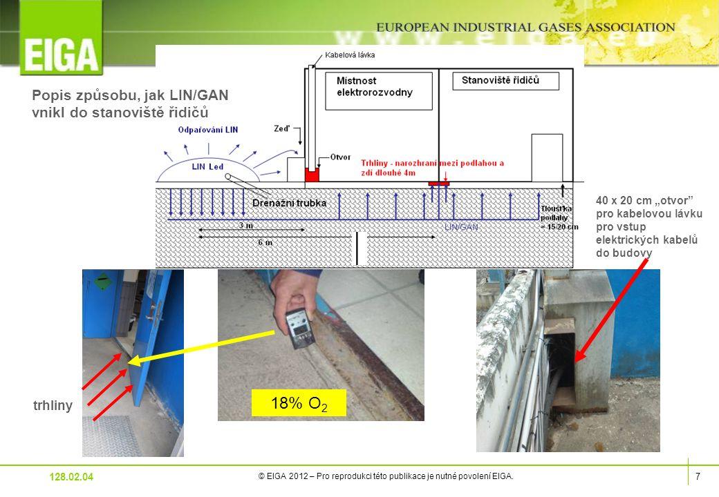 7 © EIGA 2012 – Pro reprodukci této publikace je nutné povolení EIGA.
