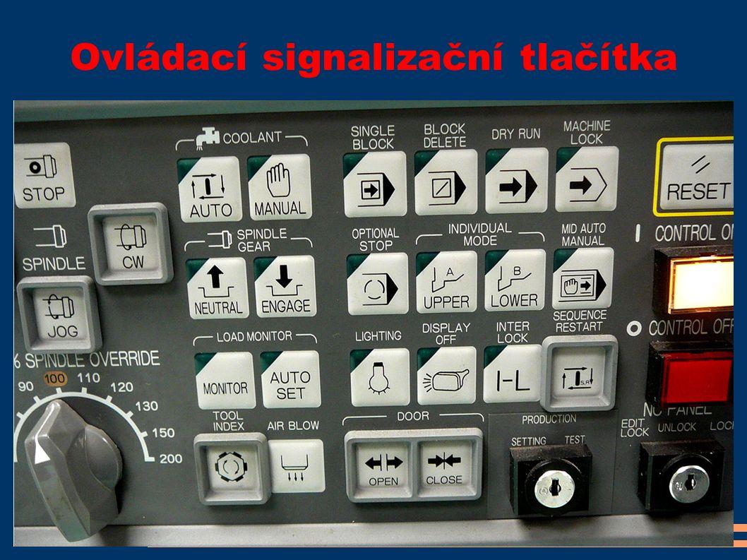 Ovládací signalizační tlačítka