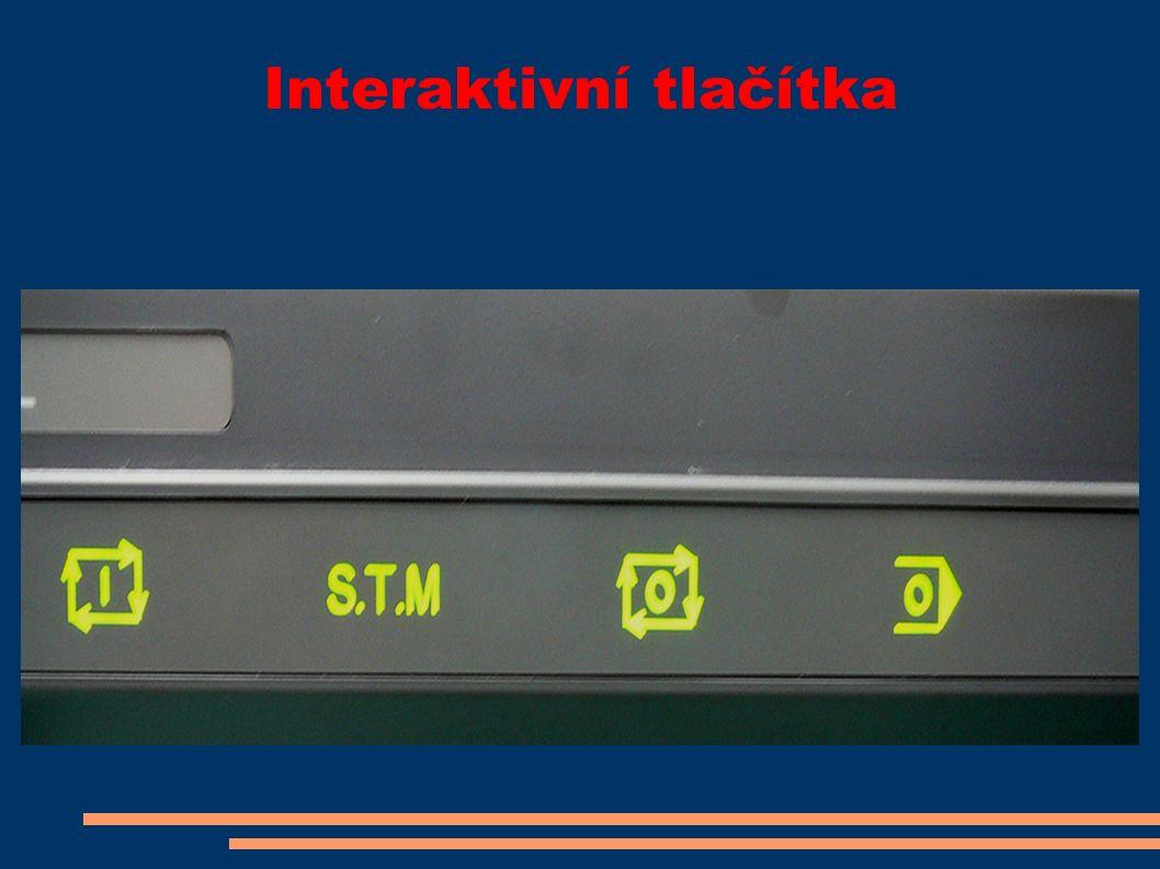 Interaktivní tlačítka