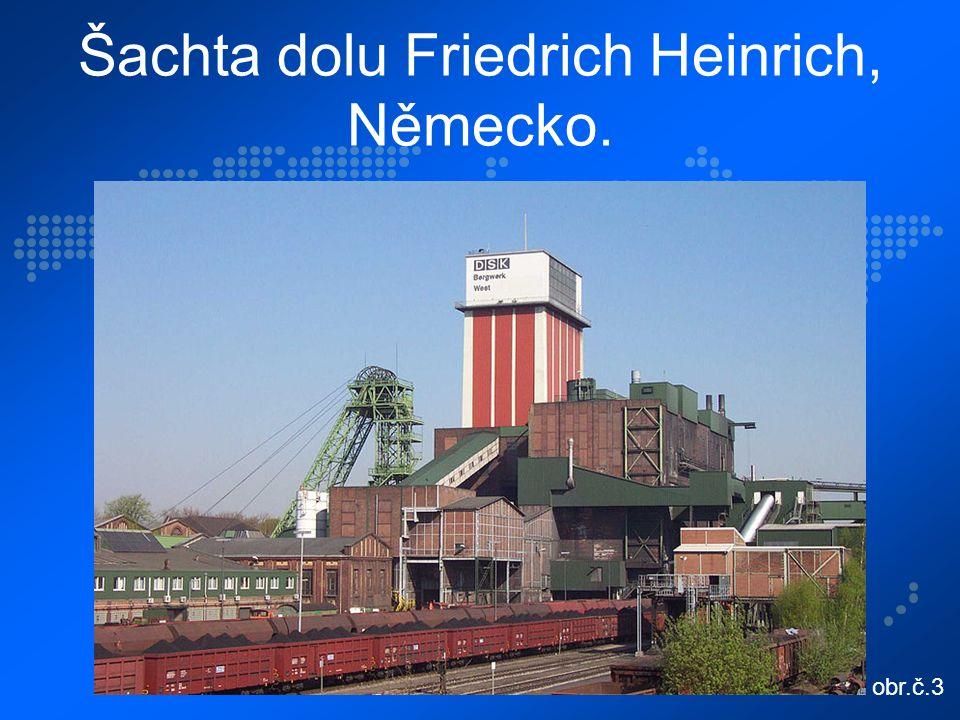 Šachta dolu Friedrich Heinrich, Německo. obr.č.3