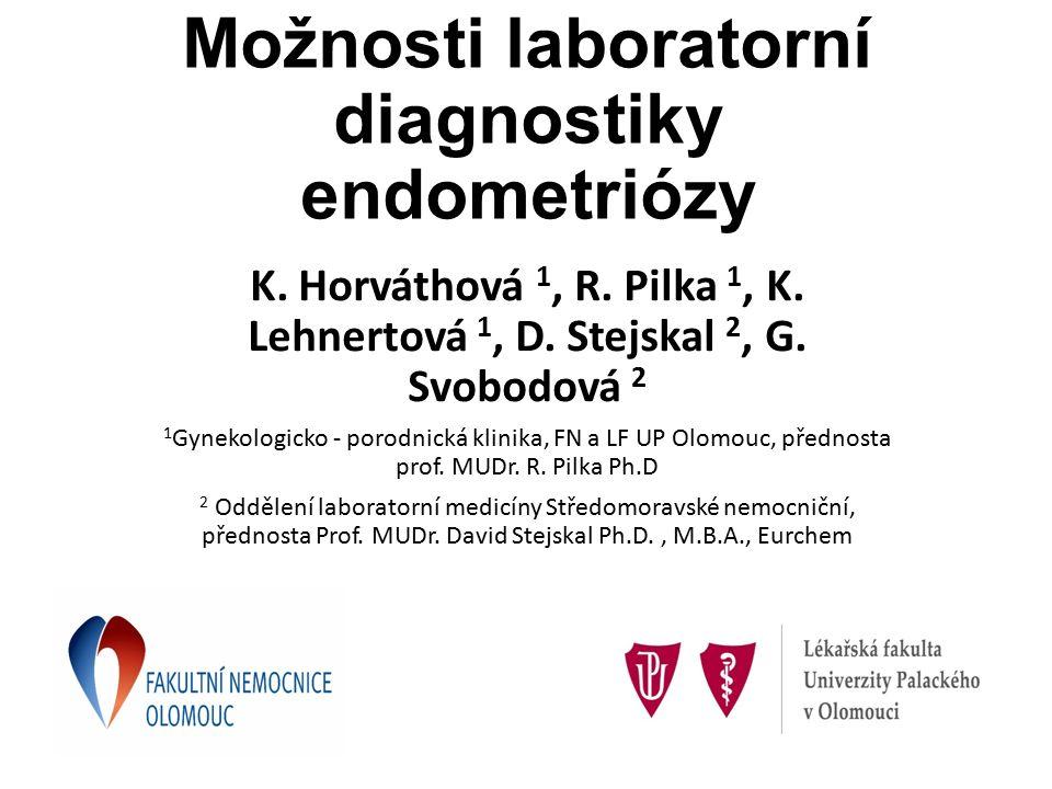 Možnosti laboratorní diagnostiky endometriózy K. Horváthová 1, R.
