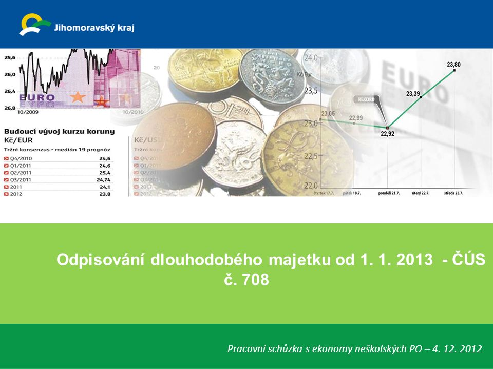 Odpisování dlouhodobého majetku od 1. 1. 2013 - ČÚS č.